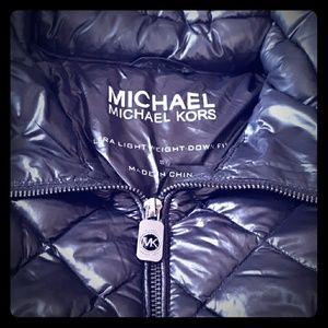 Michael Kors ultra lightweight down fill coat